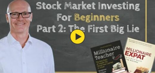 Stock Market Investing For Beginners: Part 2 - The First Big Lie [7:25]