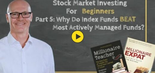 Stock Market Investing For Beginners: Part 5 - Why Do Index Funds beat Actively Managed Funds?